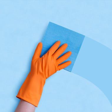 Hoe maak ik mijn canvas doek schoon?