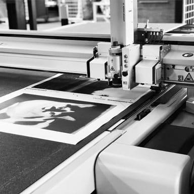 Foto op canvas uitsnijden