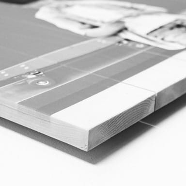 Foto op hout printen